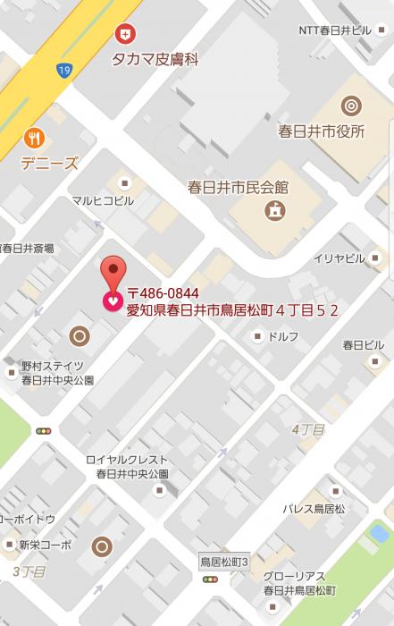 サンクレール地図